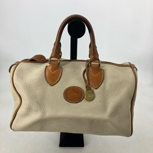 Dooney & Bourke Speedy doctor bag white leather